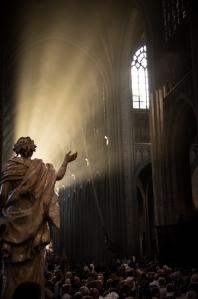 Jeu de lumière par Thomas SLUYS