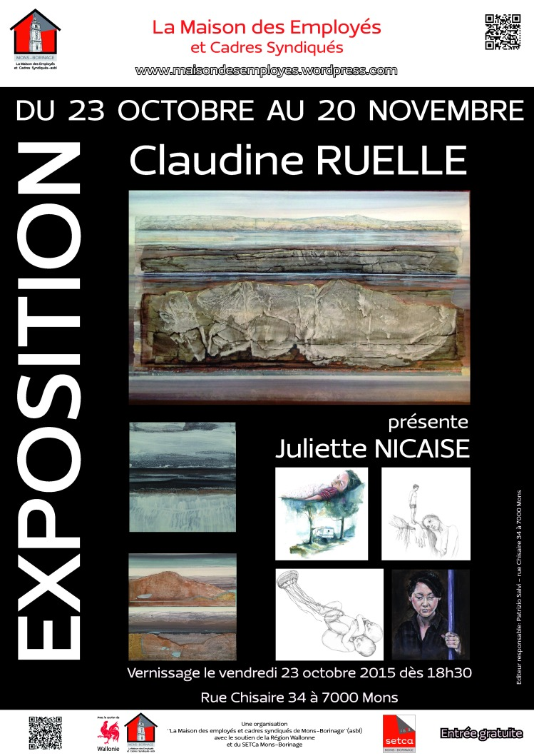 2015-10-23 - Expo Claudine Ruelle et Juliette Nicaise B