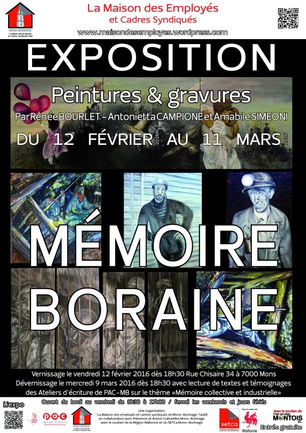 2016-02-05 - Expo MEMOIRE BORAINE -PAC