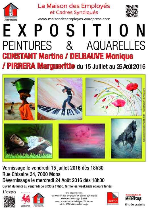 2016-07-15 - Peintures et aquarelles